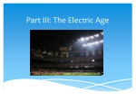 Part III: The Electric Age