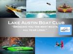Lake Austin Boat Club