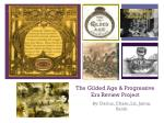 The Gilded Age & Progressive Era Review Project