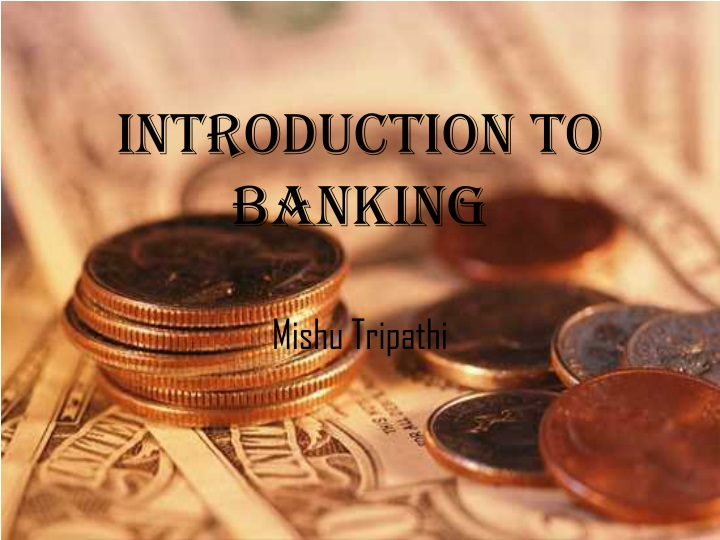 introduction to banking n.