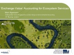 'Exchange-Value' Accounting for Ecosystem Services