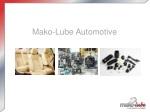Mako-Lube Automotive