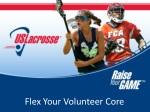 Flex Your Volunteer Core