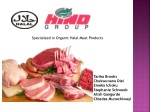 Specialized in Organic Halal Meat Products