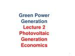 Green Power Generation