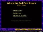 Where the Red Fern Grows Wilson Rawls