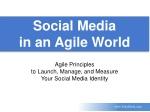 Social Media in an Agile World