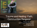 Trauma and Healing: Faith Communities Respond