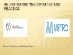 Online Marketing Strategy and practice