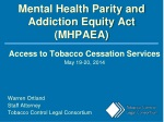 Mental Health Parity and Addiction Equity Act (MHPAEA)