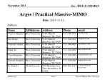 Argos | Practical Massive-MIMO