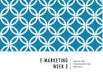E-Marketing Week 2