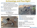 Participate in one of the leading archaeological field schools of the Middle East.