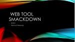 Web Tool  SmackDOWN