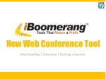 New Web Conference Tool
