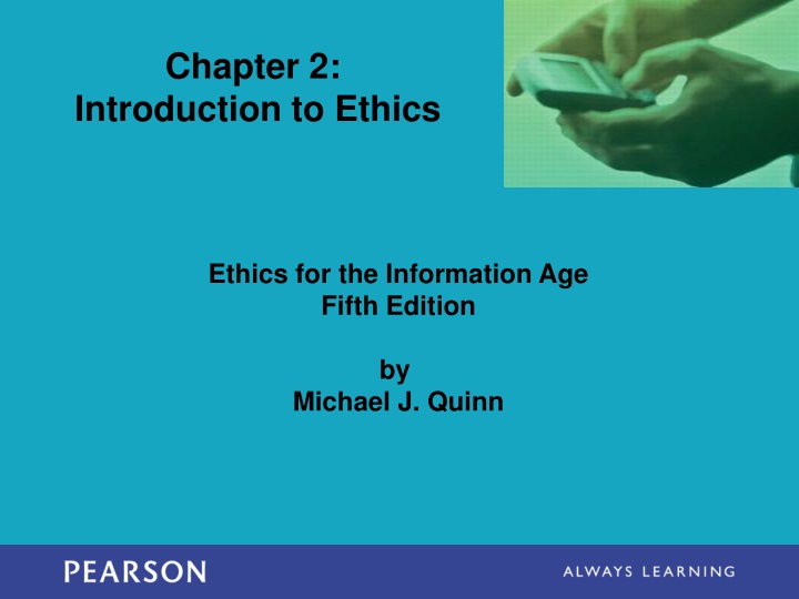 chapter 2 introduction to ethics n.