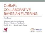 CoBaFi : Collaborative Bayesian Filtering