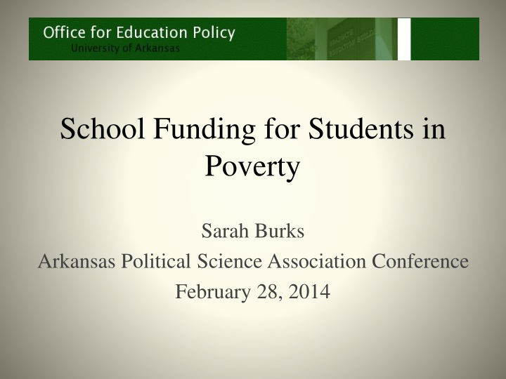 school funding for students in poverty n.
