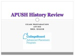 APUSH History Review