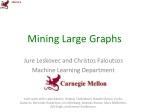 Mining Large Graphs