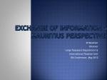 Exchange of Information – Mauritius Perspective