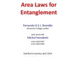 Area Laws for Entanglement
