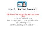 Issue 3 – Scottish Economy