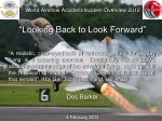 """World Airshow Accident/Incident Overview 2012 """"Looking Back to Look Forward"""""""