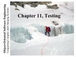 Chapter 11, Testing