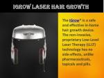 iGrow Laser Hair Growth - Best Hair Regrowth Treatment