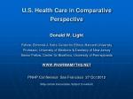 U.S. Health Care in Comparative Perspective