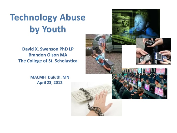 technology abuse by youth n.