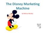 The Disney Marketing Machine