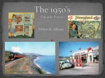 The 1950's (Decades Project)