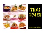 THAI TIMES BY AMNAJ NOOJAI