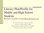 Dr. Elaine Weber, Macomb ISD Susan Codere Kelly, MDE Diane Berg, Independent Consultant