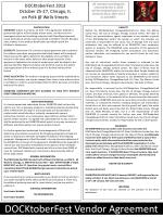 DOCKtoberFest Vendor Agreement