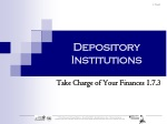 Depository Institutions