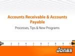Accounts Receivable & Accounts Payable