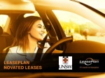 LEASEPLAN NOVATED LEASES