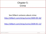 Chapter 5: Crime