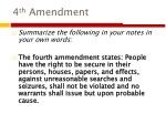 4 th Amendment
