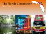 The Florida Constitution