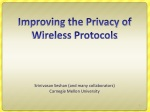 Improving the Privacy of Wireless Protocols