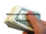 Money and College Students