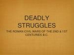 DEADLY STRUGGLES