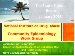 National Institute on Drug Abuse Community Epidemiology Work Group