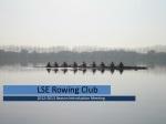 LSE Rowing Club