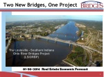 Two New Bridges, One Project