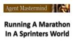 Running A Marathon In A Sprinters World